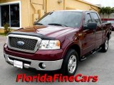 2006 Dark Toreador Red Metallic Ford F150 XLT SuperCrew #26125389