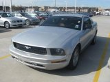 2006 Satin Silver Metallic Ford Mustang V6 Premium Coupe #26125701