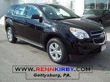 2010 Black Chevrolet Equinox LS #26125704