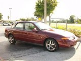 2000 Dark Red Saturn L Series LS2 Sedan #26125867