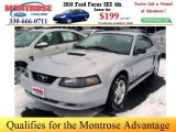 2002 Satin Silver Metallic Ford Mustang V6 Coupe #26125241