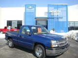 2004 Arrival Blue Metallic Chevrolet Silverado 1500 Regular Cab #26125486