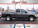 2002 Graphite Metallic Dodge Ram 1500 Sport Quad Cab 4x4 #26125276