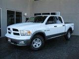 2010 Stone White Dodge Ram 1500 TRX Crew Cab #26125289