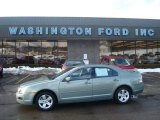 2009 Moss Green Metallic Ford Fusion SE V6 #26125642