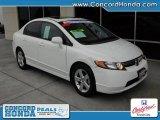 2007 Taffeta White Honda Civic EX Sedan #26177227