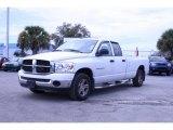 2007 Bright White Dodge Ram 1500 SLT Quad Cab #26177583