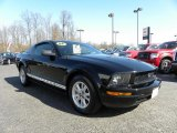 2006 Black Ford Mustang V6 Deluxe Coupe #26177411