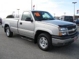 2005 Silver Birch Metallic Chevrolet Silverado 1500 Z71 Regular Cab 4x4 #26177443