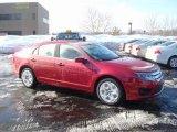 2010 Sangria Red Metallic Ford Fusion SE #26177348