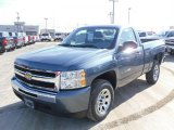 2010 Blue Granite Metallic Chevrolet Silverado 1500 Regular Cab #26205523
