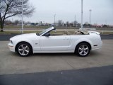 2007 Performance White Ford Mustang GT Premium Convertible #26210048