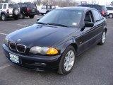 2001 Black Sapphire Metallic BMW 3 Series 325i Sedan #26210063