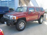 2010 Red Rock Metallic Hummer H3  #26210521