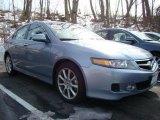 2008 Glacier Blue Metallic Acura TSX Sedan #26210217