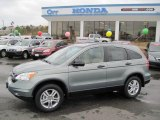 2010 Opal Sage Metallic Honda CR-V EX #26210424