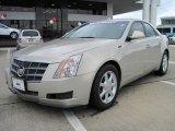 2009 Gold Mist Cadillac CTS Sedan #26210547