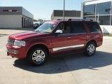 2007 Vivid Red Metallic Lincoln Navigator Luxury #26210580