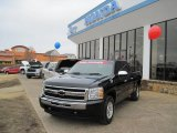 2009 Black Chevrolet Silverado 1500 LT Crew Cab #26210462