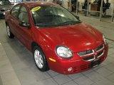 2003 Blaze Red Crystal Pearl Dodge Neon SXT #26210701