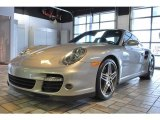 2008 GT Silver Metallic Porsche 911 Turbo Coupe #26211096