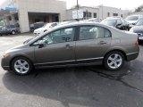 2007 Galaxy Gray Metallic Honda Civic EX Sedan #26210721