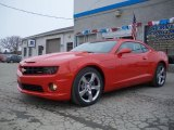 2010 Victory Red Chevrolet Camaro SS/RS Coupe #26210123