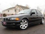 2001 Jet Black BMW 3 Series 325i Sedan #26210265