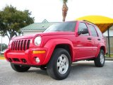 2002 Flame Red Jeep Liberty Limited 4x4 #26210628
