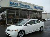 2007 Taffeta White Honda Civic EX Sedan #26210276