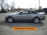 2006 Tungsten Grey Metallic Ford Mustang GT Premium Convertible #26210293
