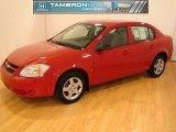 2007 Victory Red Chevrolet Cobalt LS Sedan #26210757