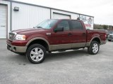 2006 Dark Toreador Red Metallic Ford F150 Lariat SuperCrew 4x4 #26210304