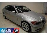 2007 Titanium Silver Metallic BMW 3 Series 335i Sedan #26210321