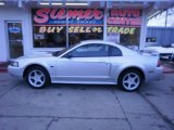 2001 Silver Metallic Ford Mustang GT Coupe #26210333