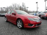 2010 Sangria Red Metallic Ford Fusion Sport #26258343
