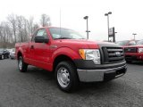 2010 Vermillion Red Ford F150 XL Regular Cab #26258344