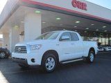 2007 Super White Toyota Tundra Limited Double Cab 4x4 #26258638