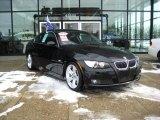2008 Jet Black BMW 3 Series 335i Coupe #26258355