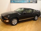 2006 Black Ford Mustang V6 Premium Coupe #26258947
