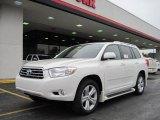 2010 Blizzard White Pearl Toyota Highlander Limited #26258584