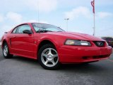 2003 Torch Red Ford Mustang V6 Coupe #26258228