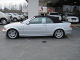 2001 Titanium Silver Metallic BMW 3 Series 330i Convertible #26258712