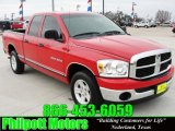 2007 Flame Red Dodge Ram 1500 ST Quad Cab #26258399