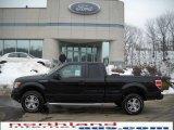 2010 Tuxedo Black Ford F150 XL SuperCab 4x4 #26258247