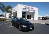 2007 Nighthawk Black Pearl Honda Civic LX Sedan #26258837