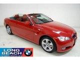 2008 Crimson Red BMW 3 Series 328i Convertible #26258407