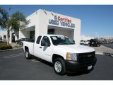 2009 Summit White Chevrolet Silverado 1500 Extended Cab #26258840