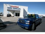 2003 Arrival Blue Metallic Chevrolet Silverado 1500 SS Extended Cab AWD #26258842