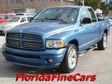 2004 Atlantic Blue Pearl Dodge Ram 1500 SLT Quad Cab #26258280